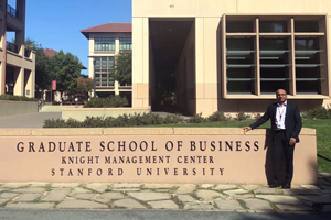 Selva attends Executive Education Program at Stanford